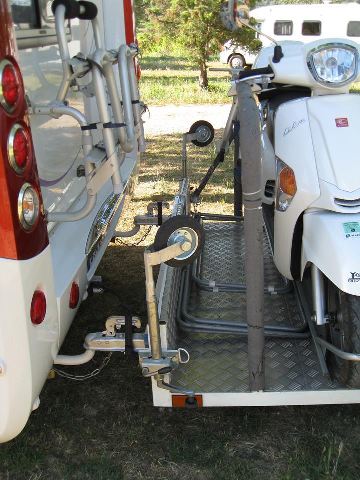scooter aanhangwagen